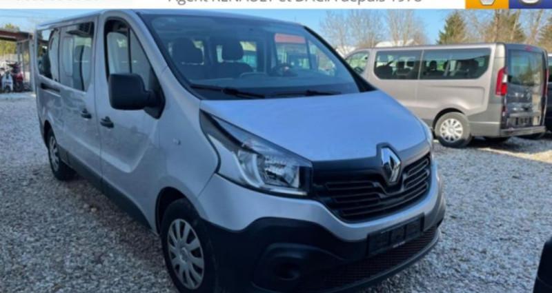 Renault Trafic COMBI Gd Passenger dCi 120 Zen 9 pl Gris occasion à LA GRAND CROIX