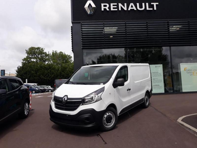 Renault Trafic FOURGON FGN L1H1 1000 KG DCI 120 Blanc occasion à COUTANCES