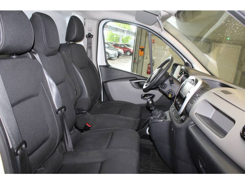 Renault Trafic FOURGON FGN L1H1 1000 KG DCI 125 ENERGY E6 GRAND CONFORT Blanc occasion à TARBES - photo n°8