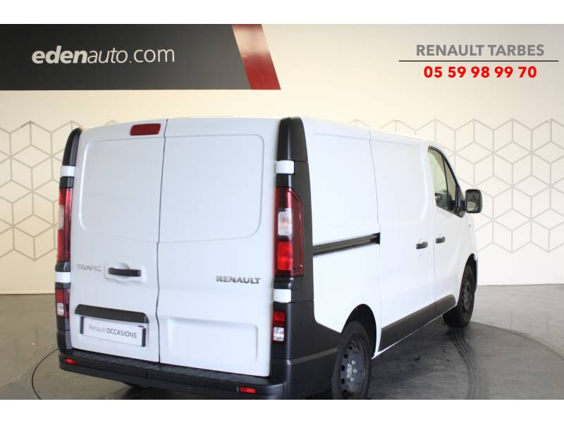 Renault Trafic FOURGON FGN L1H1 1000 KG DCI 125 ENERGY E6 GRAND CONFORT Blanc occasion à TARBES - photo n°5