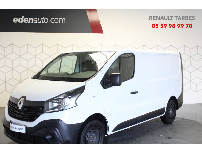 Renault Trafic FOURGON FGN L1H1 1000 KG DCI 125 ENERGY E6 GRAND CONFORT Blanc occasion à TARBES
