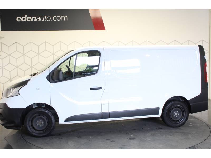 Renault Trafic FOURGON FGN L1H1 1000 KG DCI 125 ENERGY E6 GRAND CONFORT Blanc occasion à TARBES - photo n°3