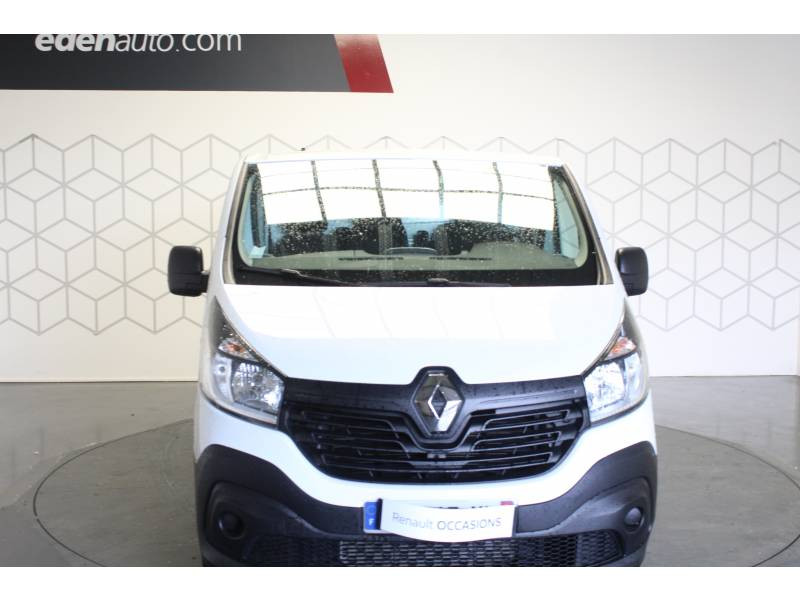Renault Trafic FOURGON FGN L1H1 1000 KG DCI 125 ENERGY E6 GRAND CONFORT Blanc occasion à TARBES - photo n°2