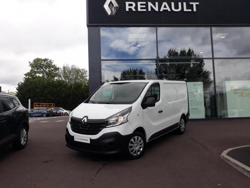 Renault Trafic FOURGON FGN L1H1 1000 KG DCI 95 E6 Blanc occasion à COUTANCES
