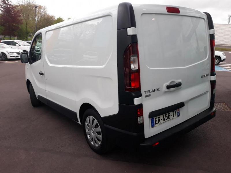 Renault Trafic FOURGON FGN L1H1 1000 KG DCI 95 E6 Blanc occasion à COUTANCES - photo n°2