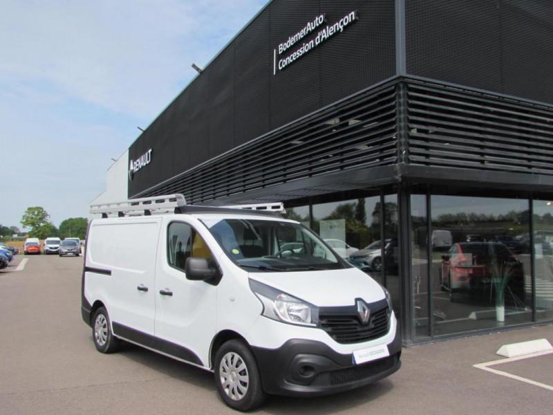 Renault Trafic FOURGON FGN L1H1 1000 KG DCI 95 E6 Blanc occasion à VALFRAMBERT