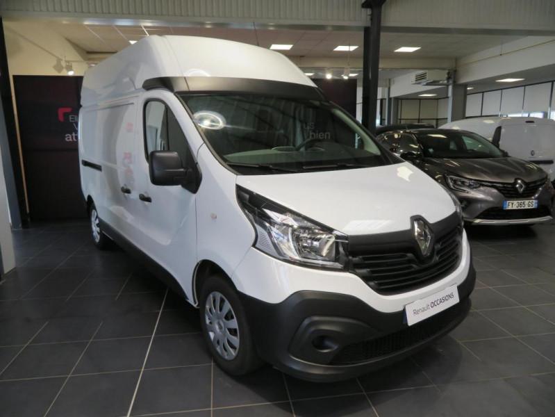 Renault Trafic FOURGON FGN L2H2 1200 KG DCI 125 Blanc occasion à QUIMPER - photo n°2