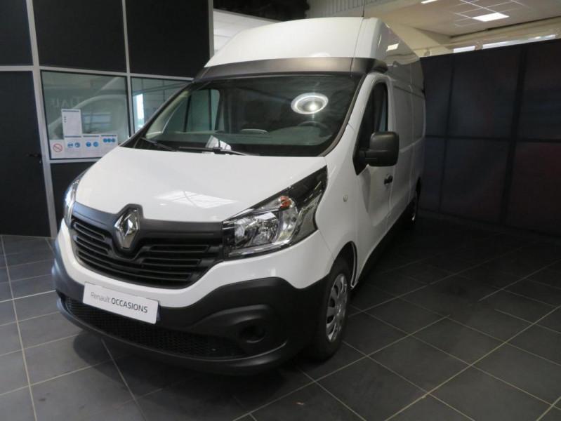 Renault Trafic FOURGON FGN L2H2 1200 KG DCI 125 Blanc occasion à QUIMPER