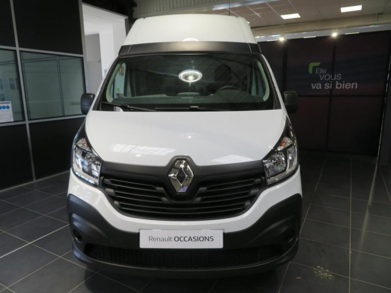 Renault Trafic FOURGON FGN L2H2 1200 KG DCI 125 Blanc occasion à QUIMPER - photo n°3
