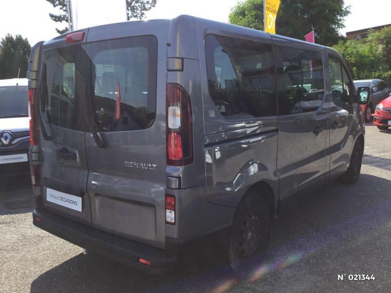 Renault Trafic L1 1.6 dCi 95ch Stop&Start Zen 8 places Gris occasion à Fécamp - photo n°6