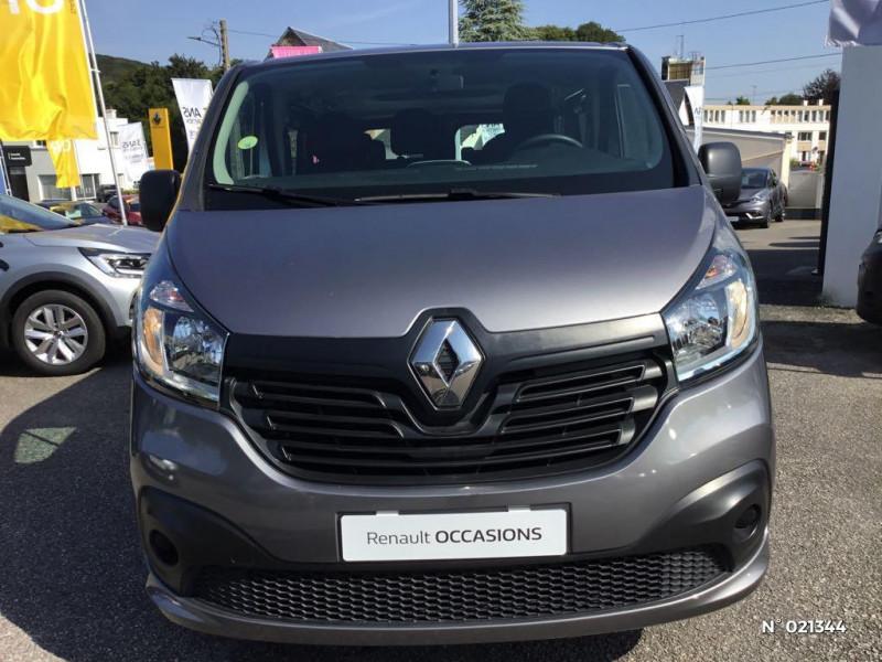Renault Trafic L1 1.6 dCi 95ch Stop&Start Zen 8 places Gris occasion à Fécamp - photo n°2