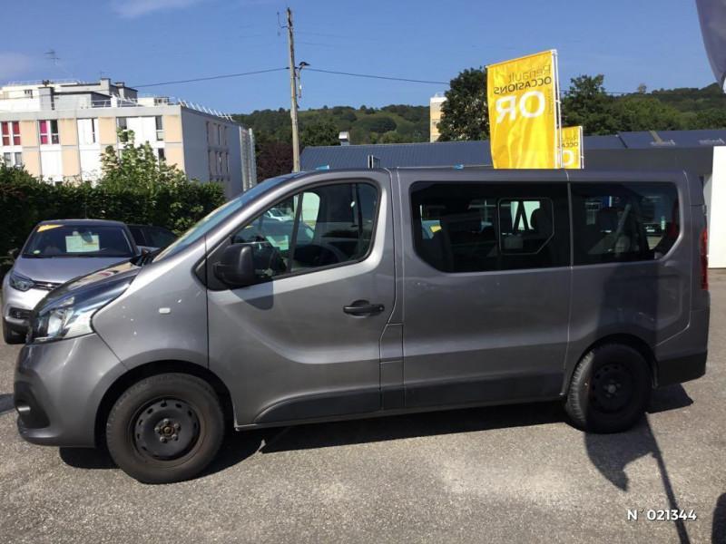 Renault Trafic L1 1.6 dCi 95ch Stop&Start Zen 8 places Gris occasion à Fécamp - photo n°8