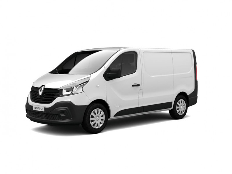 Renault Trafic L1H1 1000 1.6 dCi 125ch energy Grand Confort Euro6 Blanc occasion à DAX