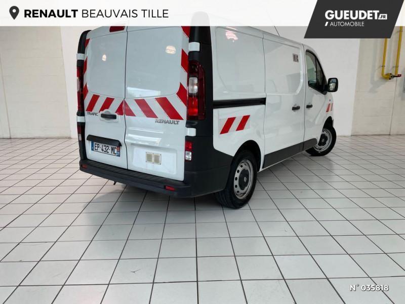 Renault Trafic L1H1 1000 1.6 dCi 95ch Stop&Start Confort Euro6 Blanc occasion à Beauvais