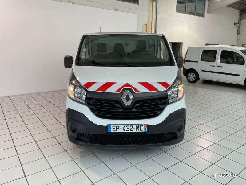Renault Trafic L1H1 1000 1.6 dCi 95ch Stop&Start Confort Euro6 Blanc occasion à Beauvais - photo n°2