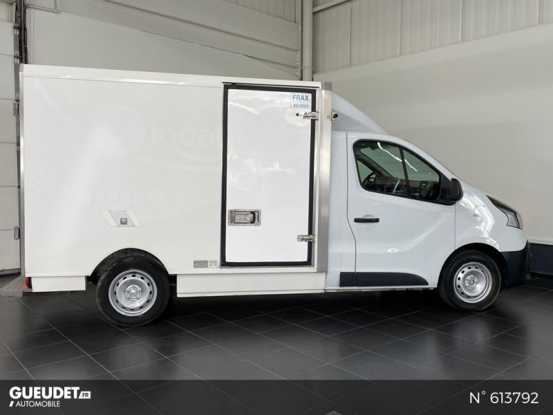 Renault Trafic L2H1 1200 1.6 dCi 125ch energy Confort Blanc occasion à Rivery - photo n°6