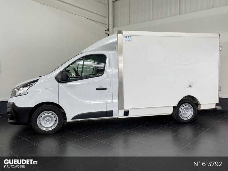 Renault Trafic L2H1 1200 1.6 dCi 125ch energy Confort Blanc occasion à Rivery - photo n°7