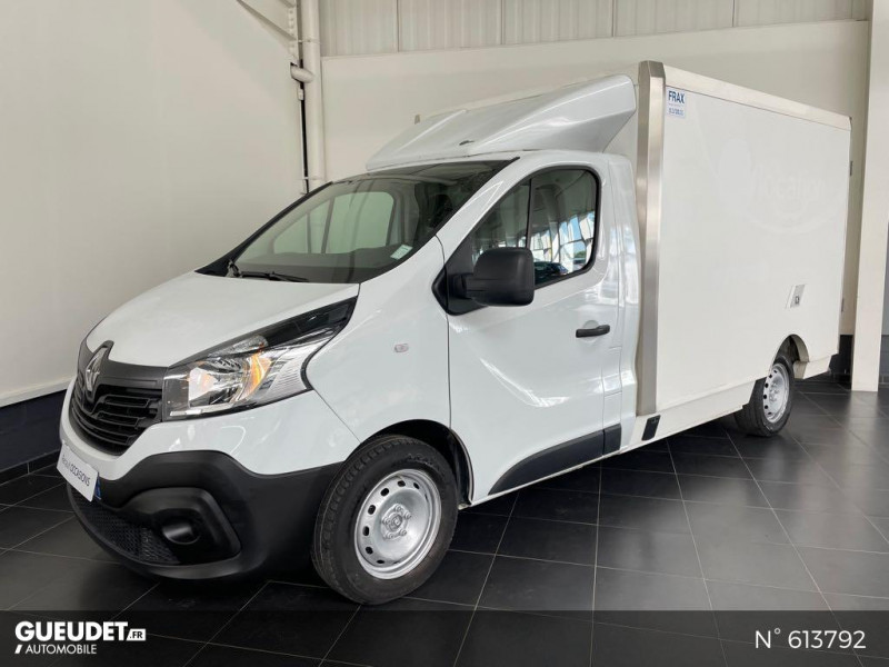 Renault Trafic L2H1 1200 1.6 dCi 125ch energy Confort Blanc occasion à Rivery