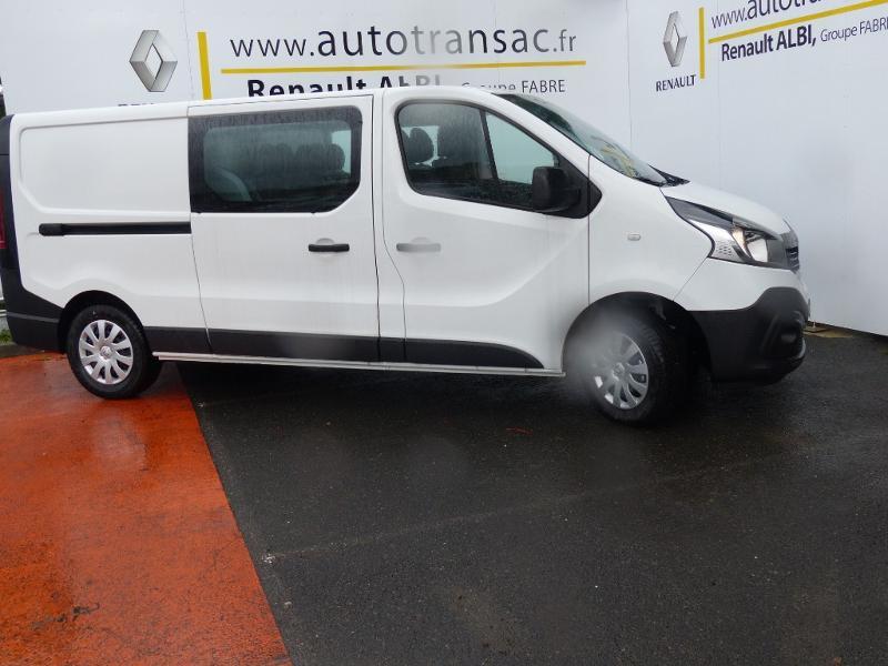 Renault Trafic L2H1 1200 2.0 dCi 120ch Cabine Approfondie Grand Confort E6 Blanc occasion à Aurillac - photo n°4