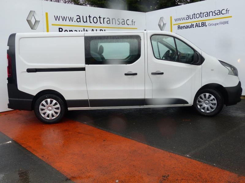 Renault Trafic L2H1 1200 2.0 dCi 120ch Cabine Approfondie Grand Confort E6 Blanc occasion à Aurillac - photo n°5