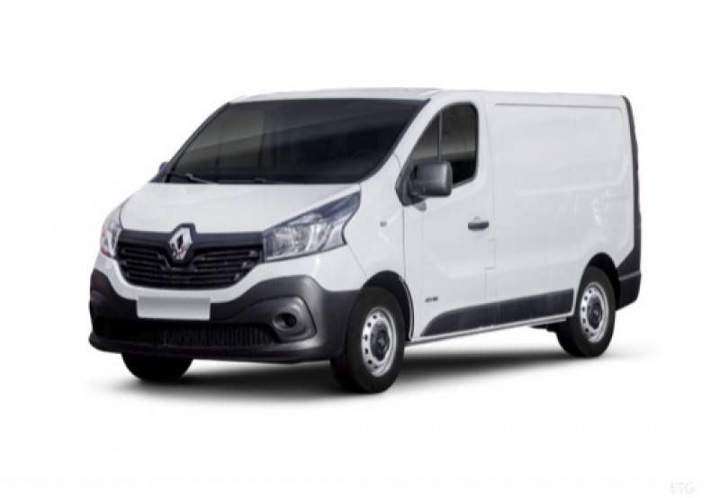 Renault Trafic L2H1 1300 1.6 dCi 120ch Confort Euro6 Gris occasion à MAISONS-ALFORT
