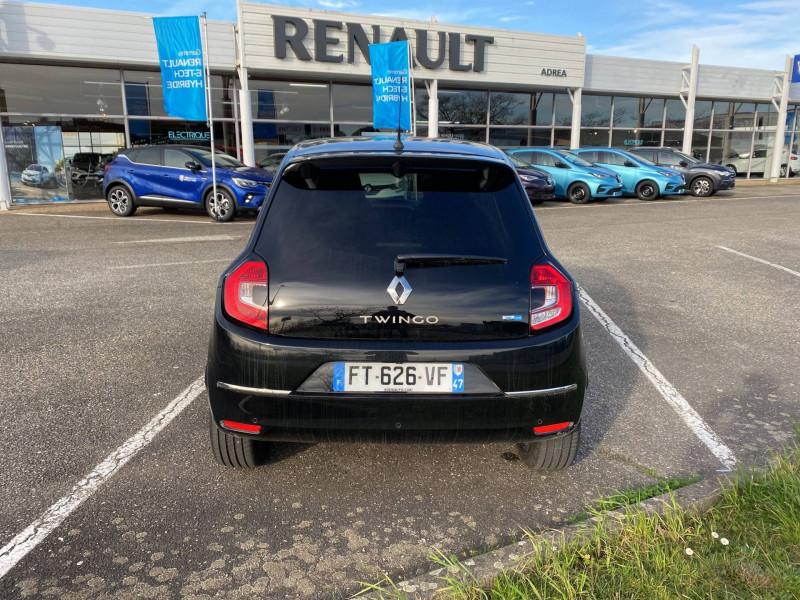 Renault Twingo II Twingo III Achat Intégral Intens 5p Noir occasion à Agen - photo n°4