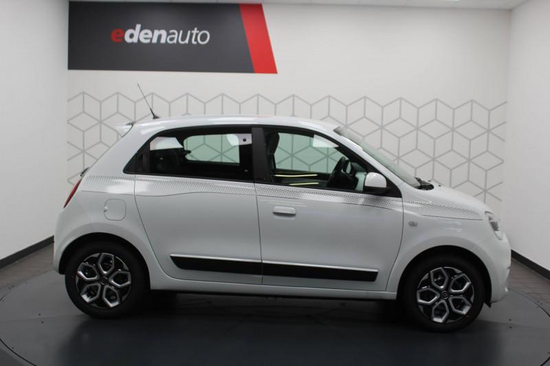 Renault Twingo II Twingo III SCe 65 Limited 5p Blanc occasion à DAX - photo n°2