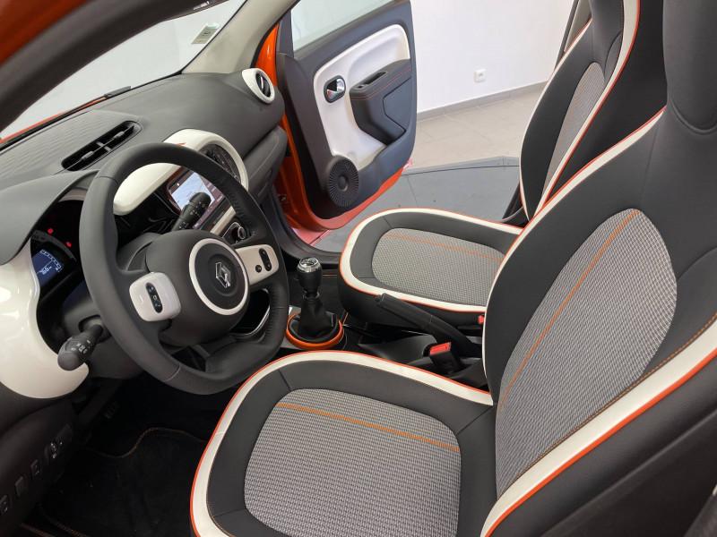 Renault Twingo II Twingo III SCe 65 Vibes 5p Orange occasion à Pau - photo n°5