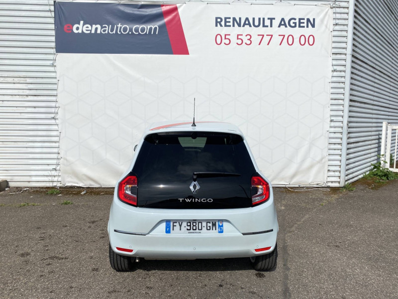 Renault Twingo II Twingo III SCe 65 Vibes 5p Blanc occasion à Agen - photo n°3