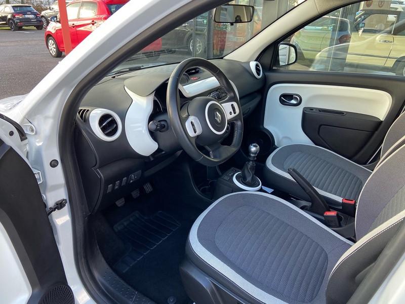 Renault Twingo 0.9 TCE 90CH ENERGY INTENS Blanc occasion à Plougastel-Daoulas - photo n°4