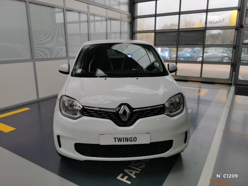 Renault Twingo 0.9 TCe 95ch Intens - 20 Blanc occasion à Saint-Just - photo n°2