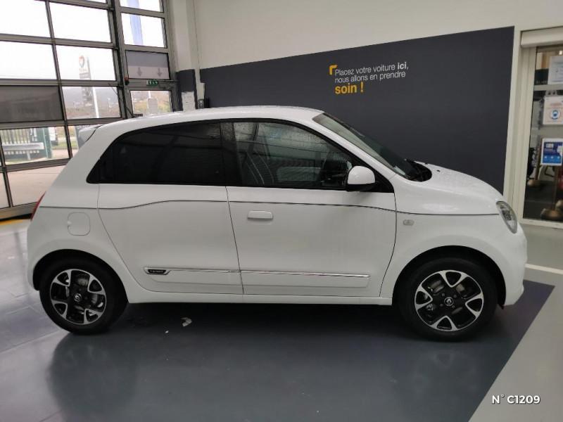 Renault Twingo 0.9 TCe 95ch Intens - 20 Blanc occasion à Saint-Just - photo n°7