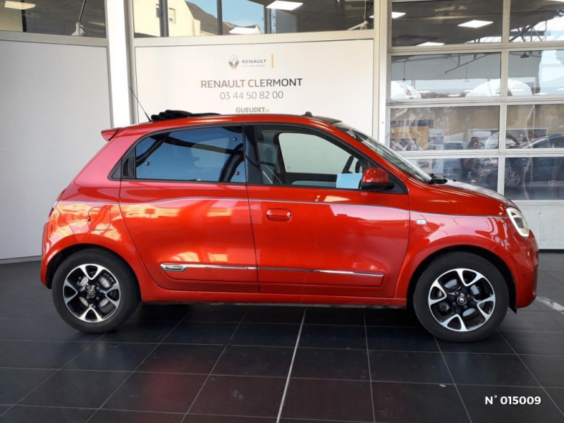 Renault Twingo 0.9 TCe 95ch Intens - 20 Rouge occasion à Clermont - photo n°7