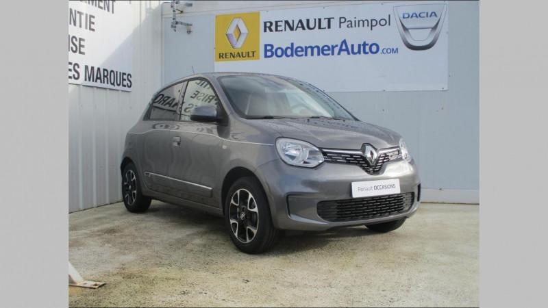 Renault Twingo 0.9 TCe 95ch Intens EDC Gris occasion à PAIMPOL - photo n°3