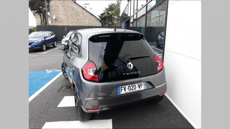Renault Twingo 0.9 TCe 95ch Intens EDC Gris occasion à VANNES - photo n°3
