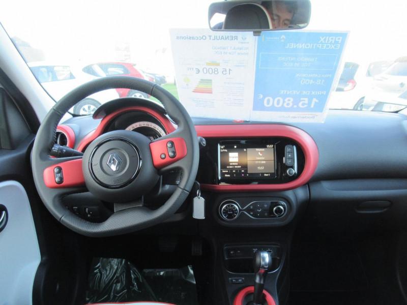 Renault Twingo 0.9 TCe 95ch Intens EDC Blanc occasion à SAINT BRIEUC  1 - photo n°5