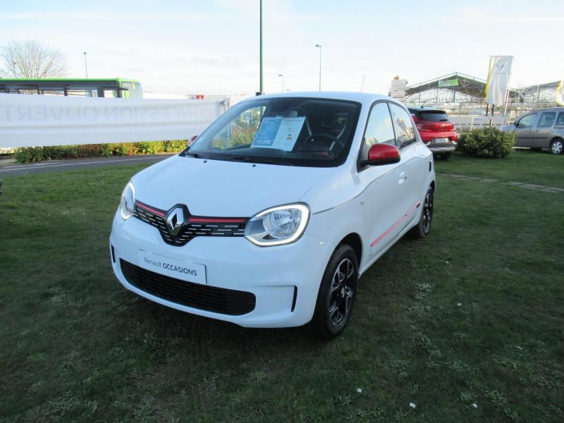 Renault Twingo 0.9 TCe 95ch Intens EDC Blanc occasion à SAINT BRIEUC  1