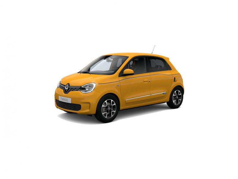 Renault Twingo 0.9 TCe 95ch Intens Jaune occasion à DAX CEDEX