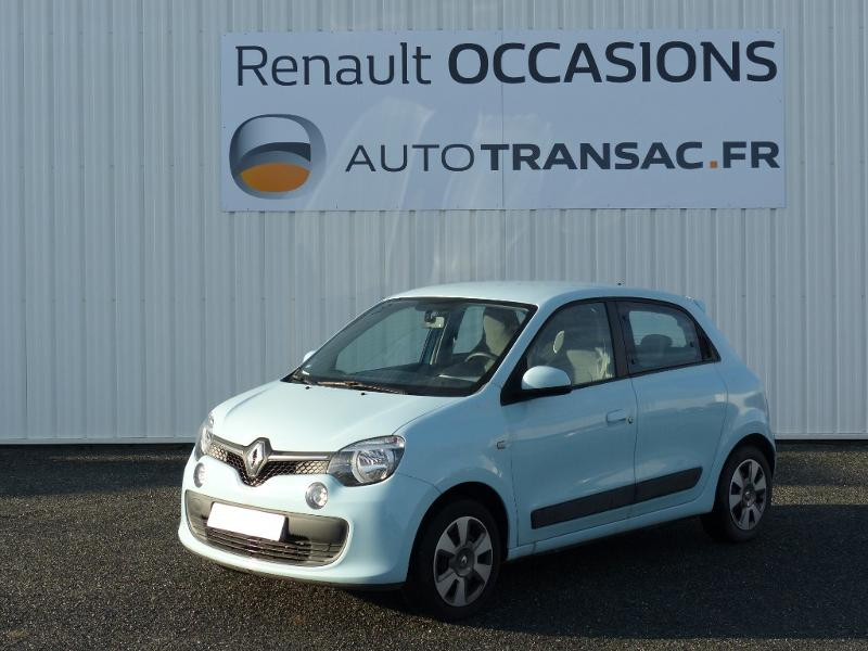 Renault Twingo 0.9 TCe 95ch Zen Bleu occasion à Figeac - photo n°3