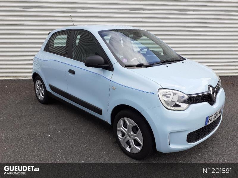 Renault Twingo 1.0 SCe 65ch Life Bleu occasion à Pont-Audemer