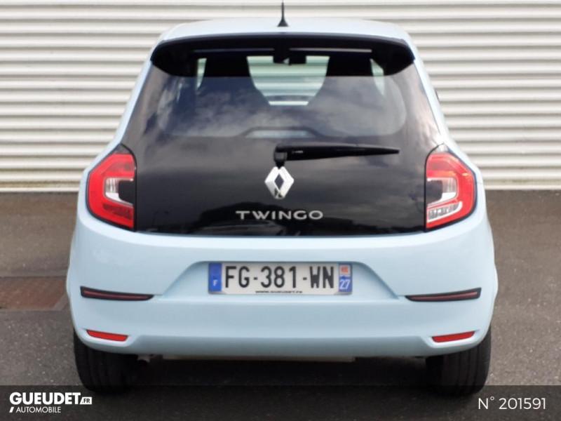 Renault Twingo 1.0 SCe 65ch Life Bleu occasion à Pont-Audemer - photo n°3