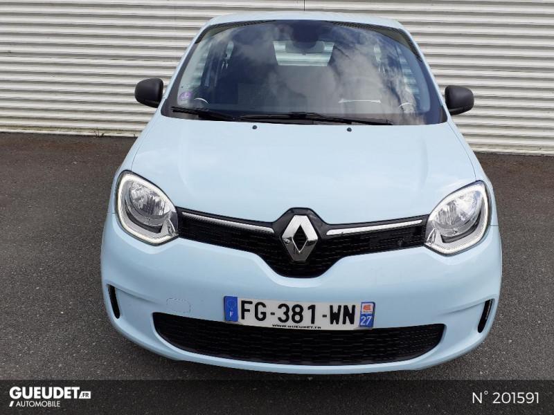 Renault Twingo 1.0 SCe 65ch Life Bleu occasion à Pont-Audemer - photo n°2