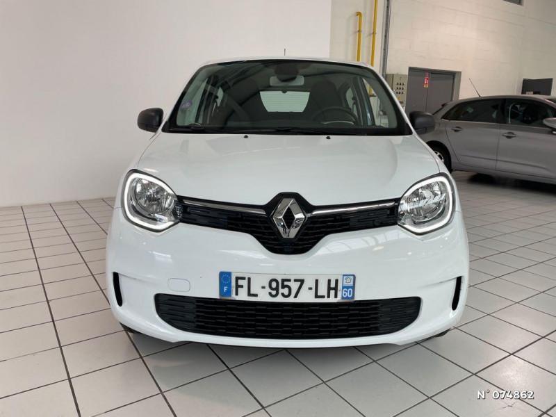 Renault Twingo 1.0 SCe 65ch Life Blanc occasion à Beauvais - photo n°2