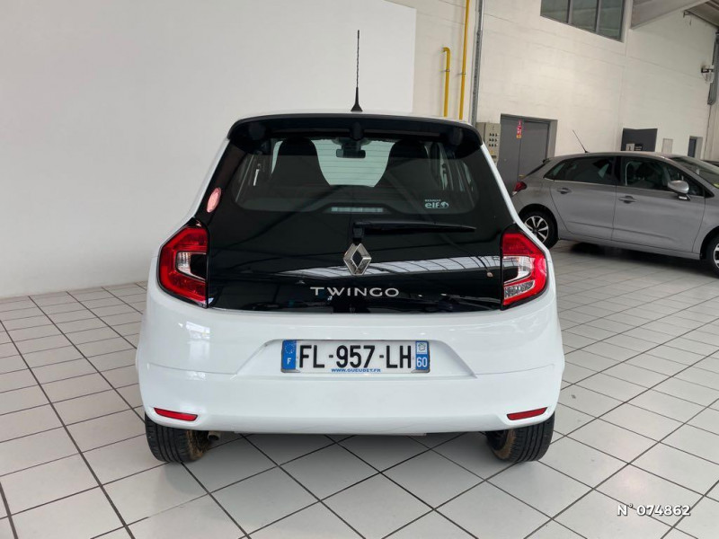 Renault Twingo 1.0 SCe 65ch Life Blanc occasion à Beauvais - photo n°3