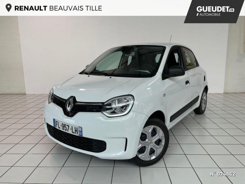 Renault Twingo 1.0 SCe 65ch Life Blanc occasion à Beauvais