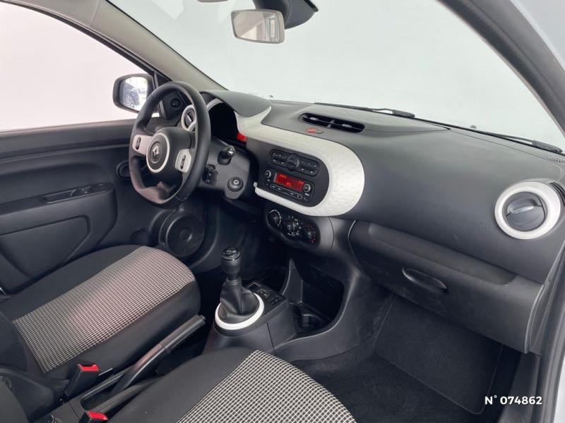 Renault Twingo 1.0 SCe 65ch Life Blanc occasion à Beauvais - photo n°4
