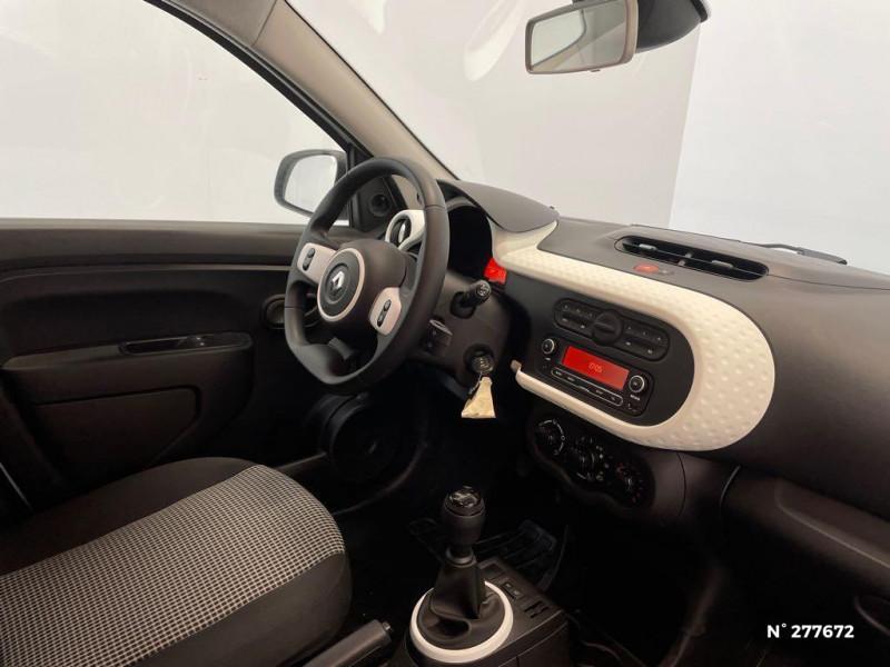 Renault Twingo 1.0 SCe 65ch Life Blanc occasion à Péronne - photo n°4