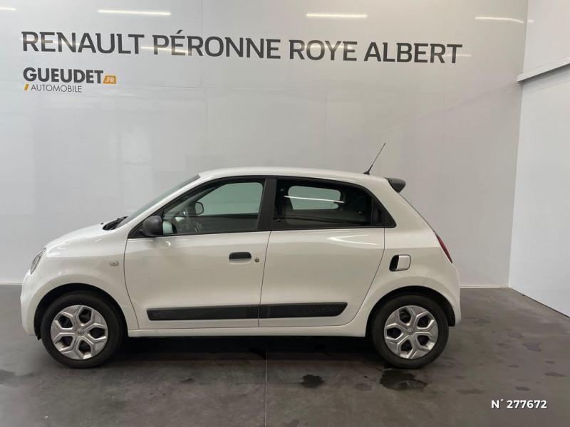 Renault Twingo 1.0 SCe 65ch Life Blanc occasion à Péronne - photo n°8