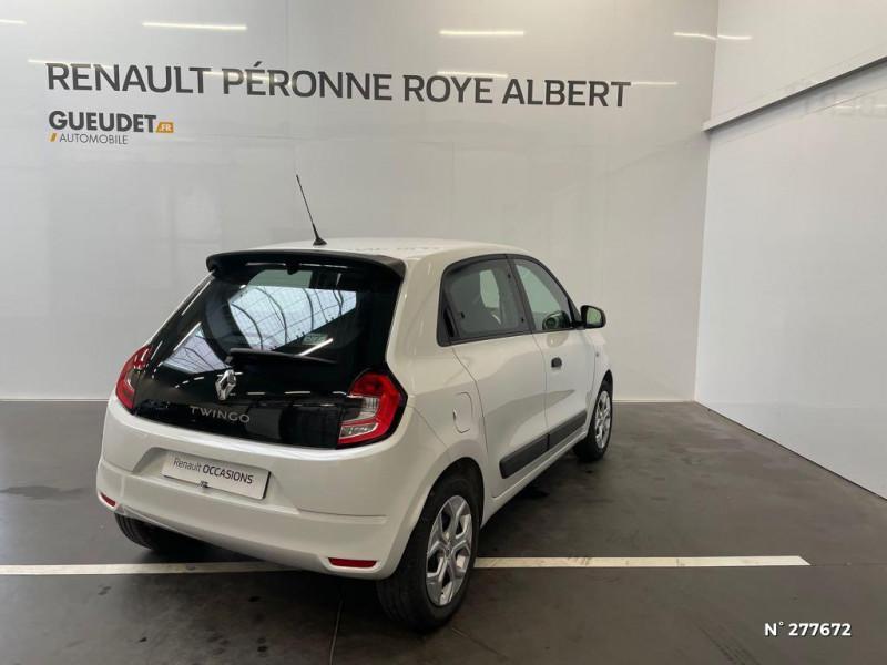 Renault Twingo 1.0 SCe 65ch Life Blanc occasion à Péronne - photo n°6