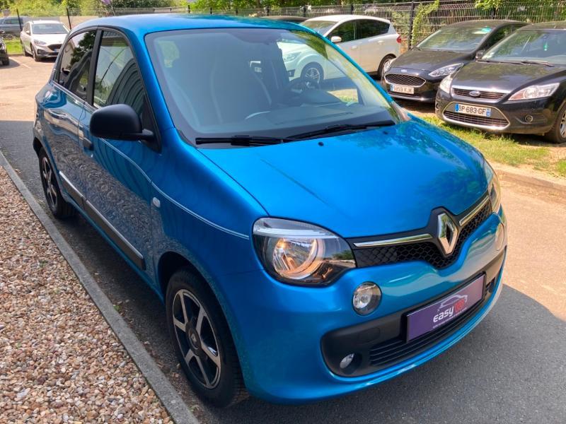 Renault Twingo 1.0 SCe 70ch Intens Boîte Courte Euro6 Bleu occasion à Saint-Doulchard - photo n°3